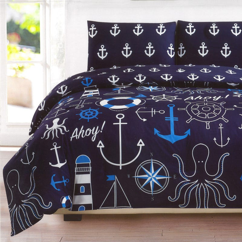 Double Comforter - Nautical