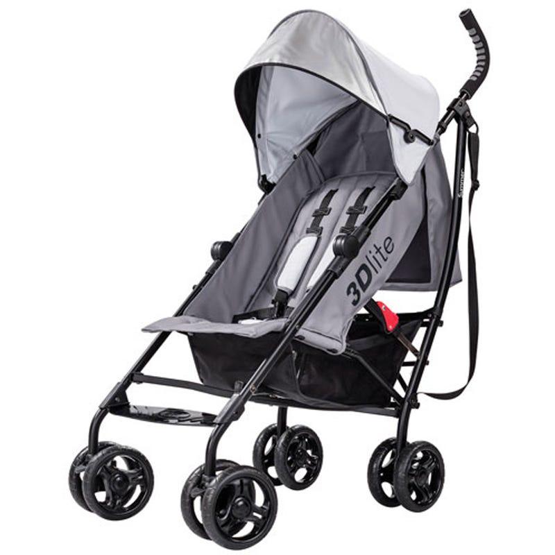 3Dlite Convenience Stroller - Gray