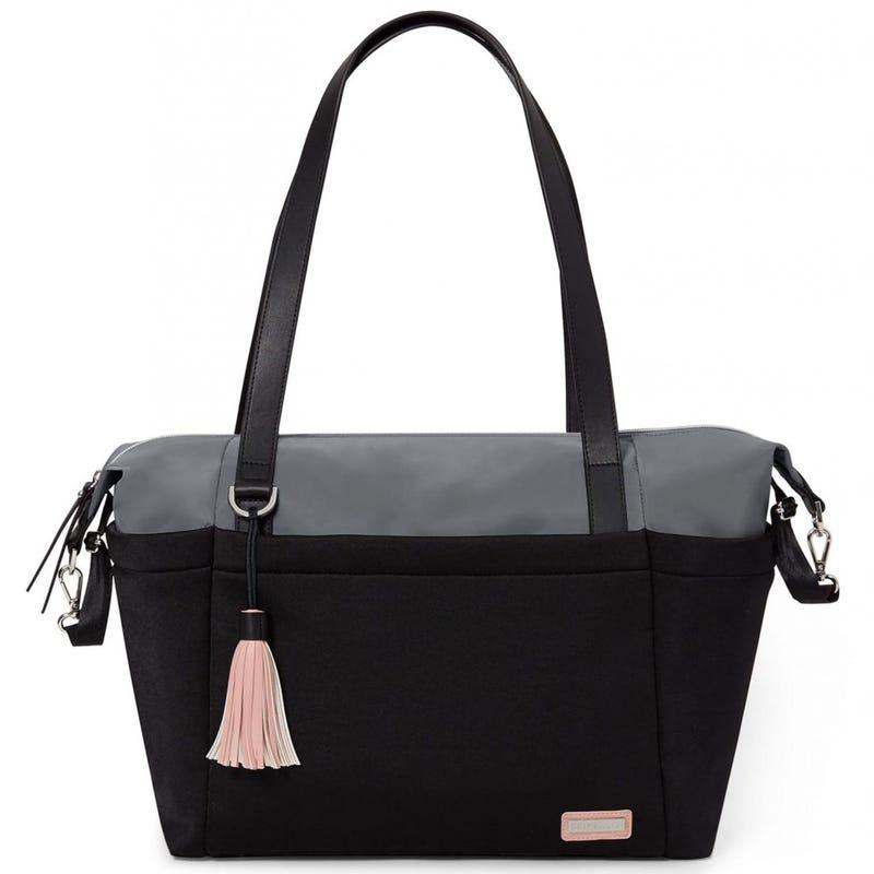 Nolita Neoprene Diaper Bag - Black/Gray