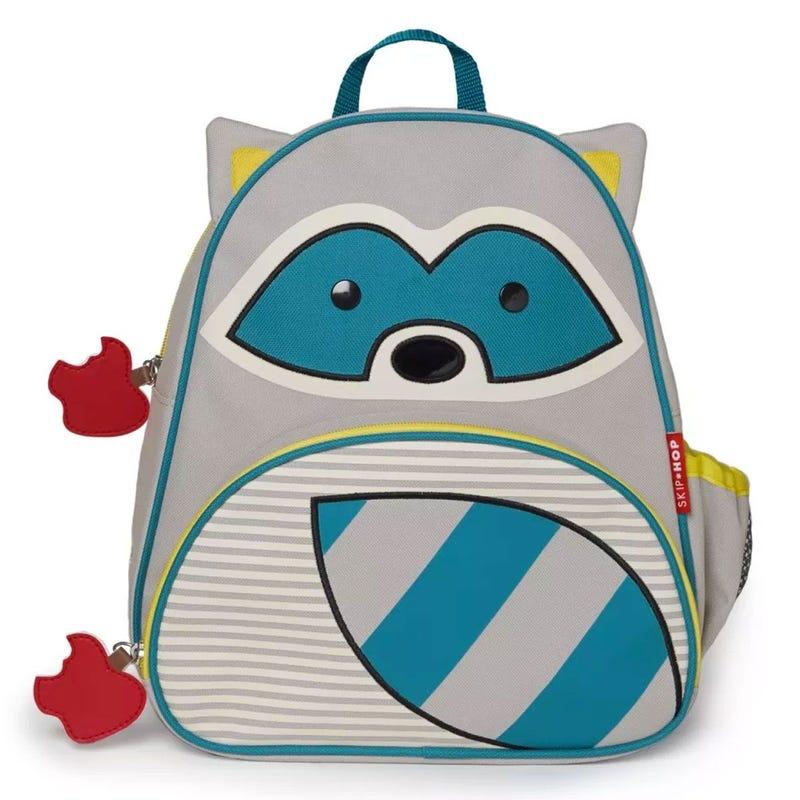 Zoo Little Kid Backpack - Racoon