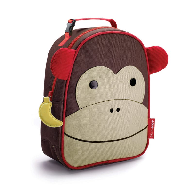 Zoo Lunchie Insulated Kids Lunch Bag - Monkey