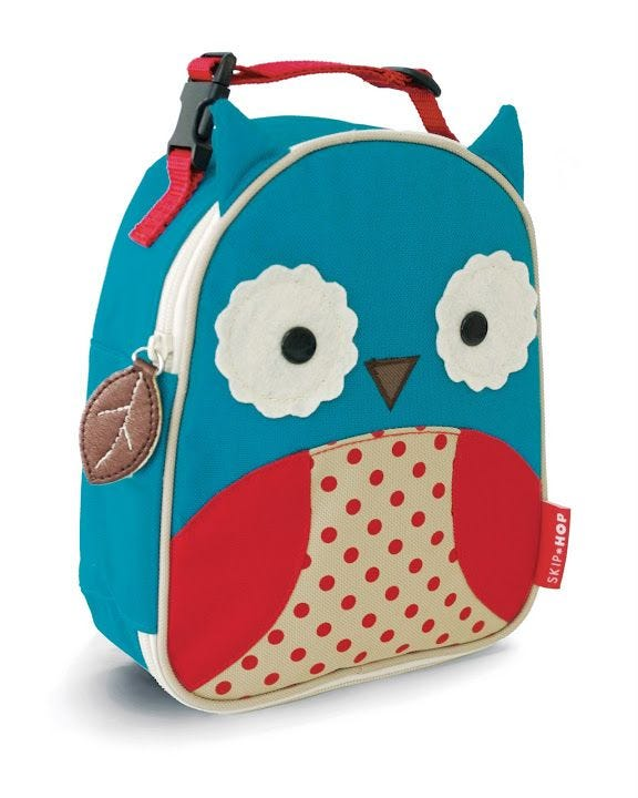 Zoo Lunchie Insulated Kids Lunch Bag - Owl