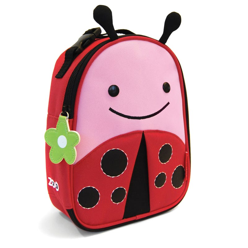 Zoo Lunchie Insulated Kids Lunch Bag - Ladybug
