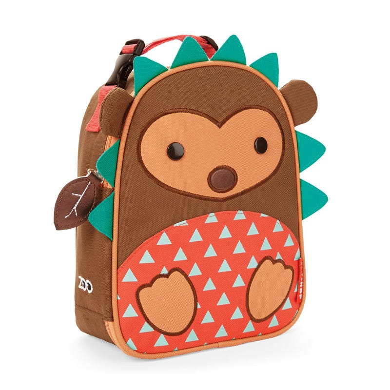 Zoo Lunchie Insulated Kids Lunch Bag - Hedgehog