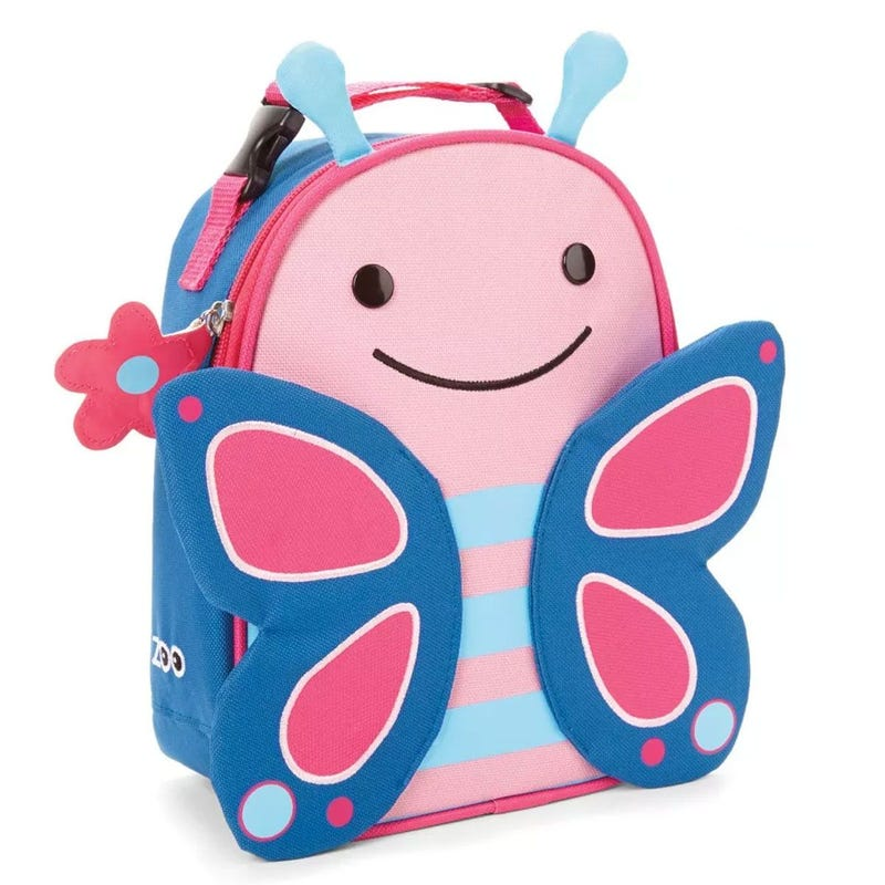 Zoo Lunchie Insulated Kids Lunch Bag - Butterfly