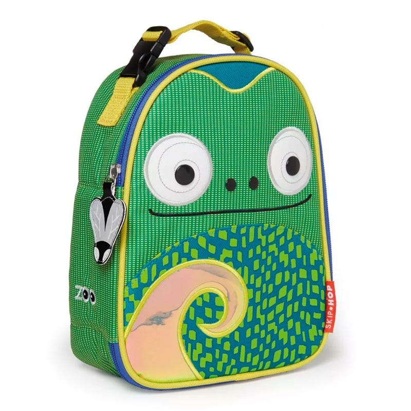 Zoo Lunchie Insulated Kids Lunch Bag - Chameleon