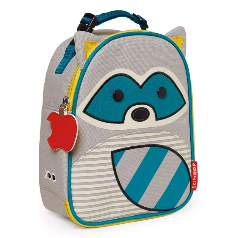 Zoo Lunchie Insulated Kids Lunch Bag - Racoon