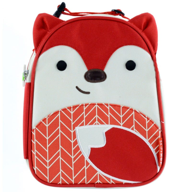 Zoo Lunchie Insulated Kids Lunch Bag - Fox