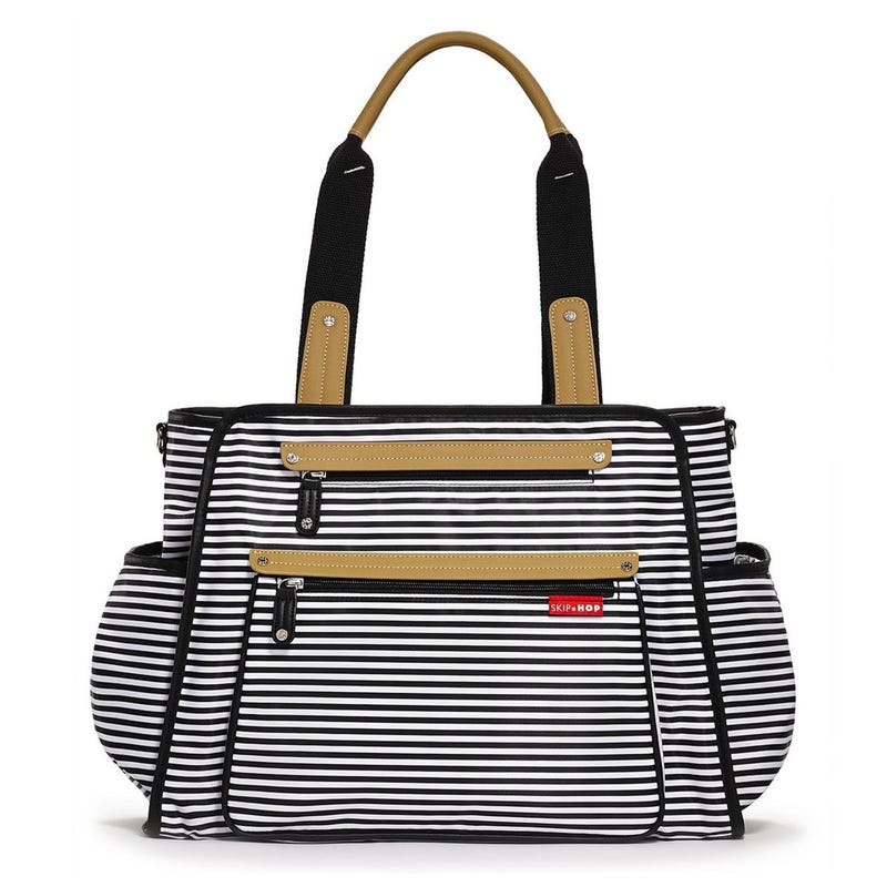 Grand Central Tote Diaper Bag - Stripe