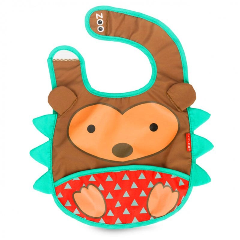 Zoo Bib - Hedgehog