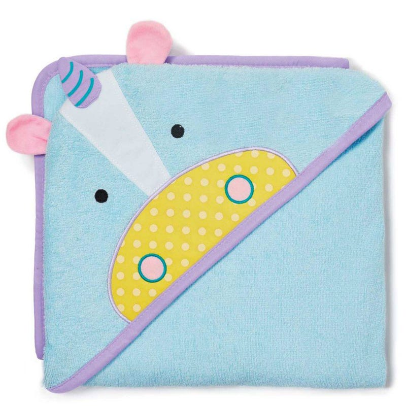 Zoo Hooded Towel - Unicorn