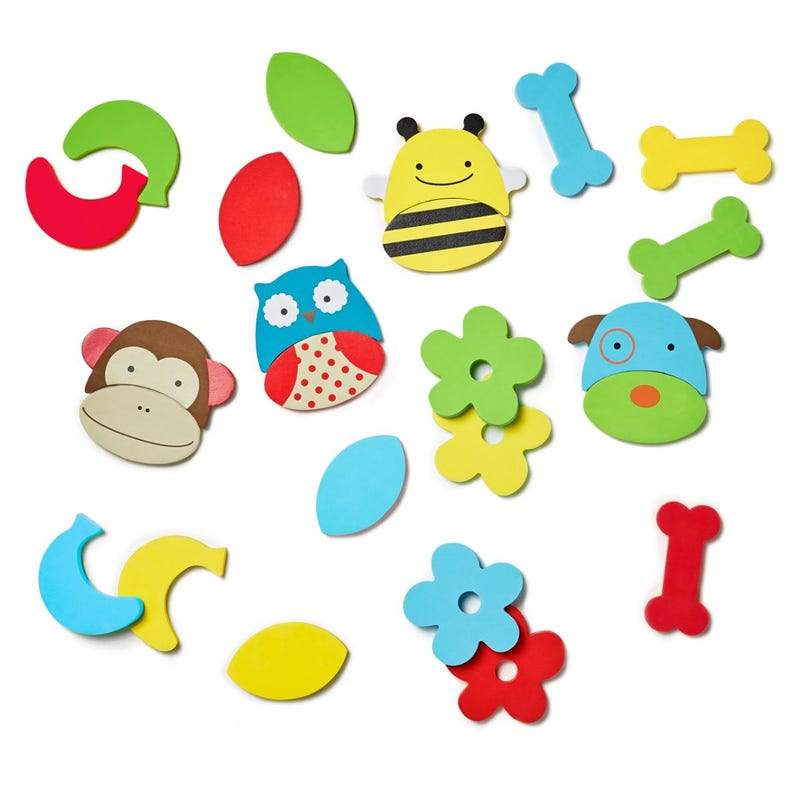 Zoo Mix and Match Foam Pals Bath Toys