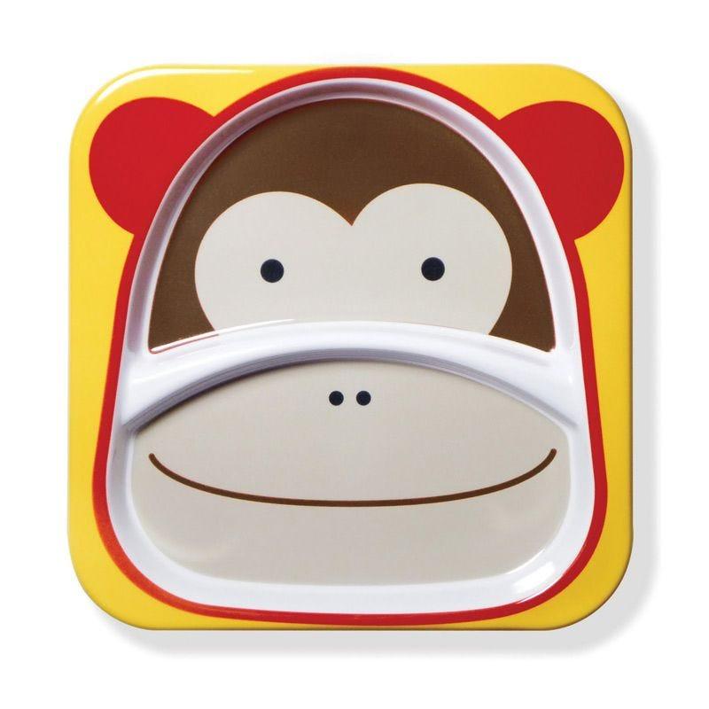 Zoo Little Kid Plate - Monkey
