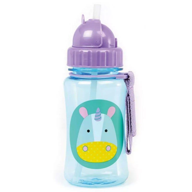 Zoo Straw Bottle - Unicorn