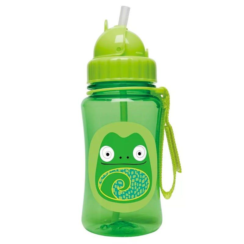 Zoo Straw Bottle - Chameleon