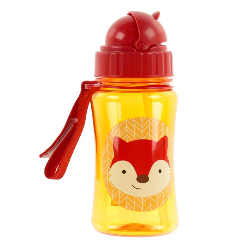 Zoo Straw Bottle - Fox