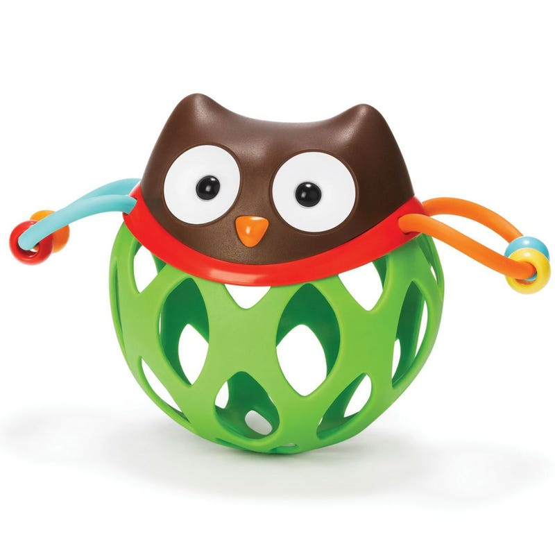 Explore and More Roll-Around Rattle - Owl