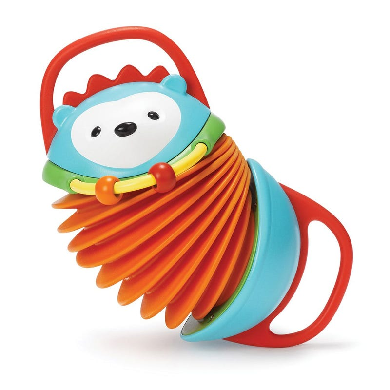 Explore and More Accordion Toy - Hedgehog