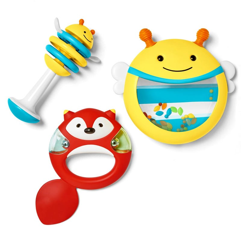 Explore & More Musical Instrument Toy Set - Bee/Fox