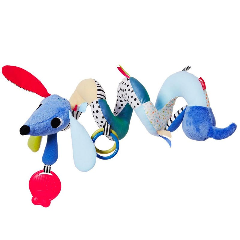 Village Vibrant Musical Activity Toy - Blue Spiral