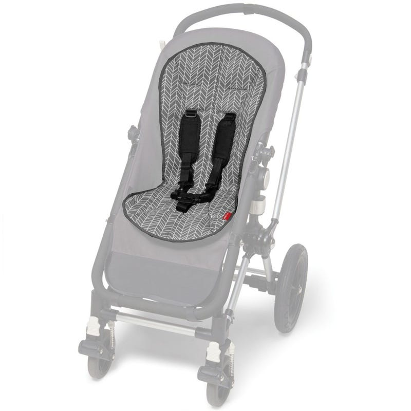 Stroll and Go Cool Touch Infant Support - Gray Feather
