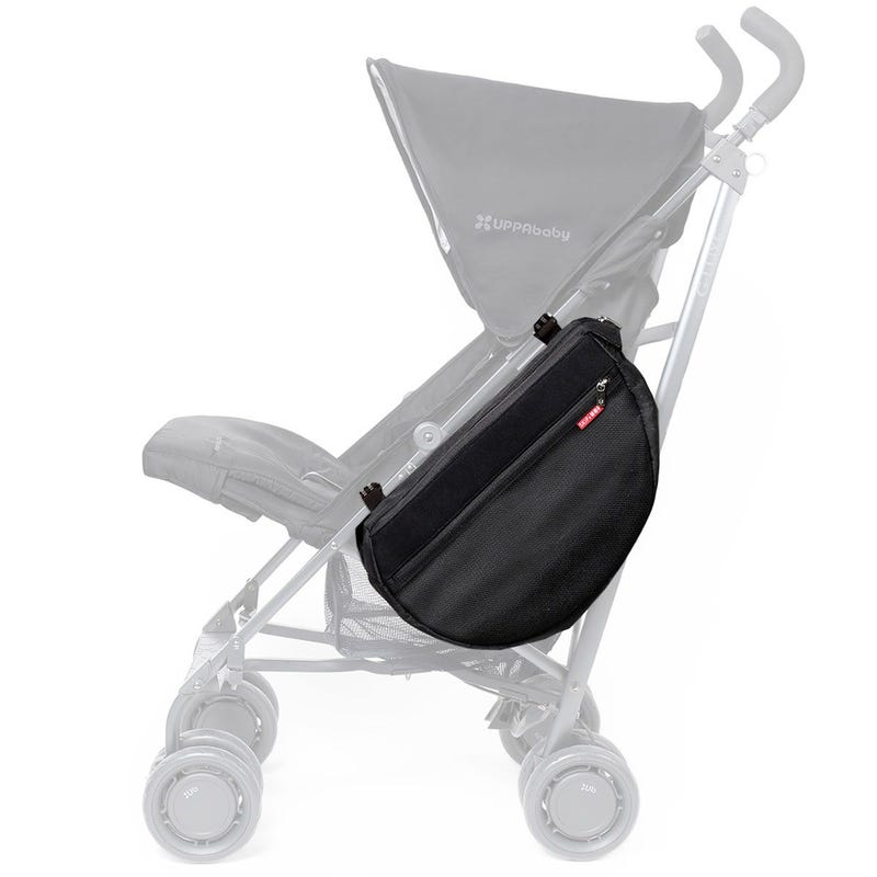 Grab And Go Stroller Saddlebag - Black