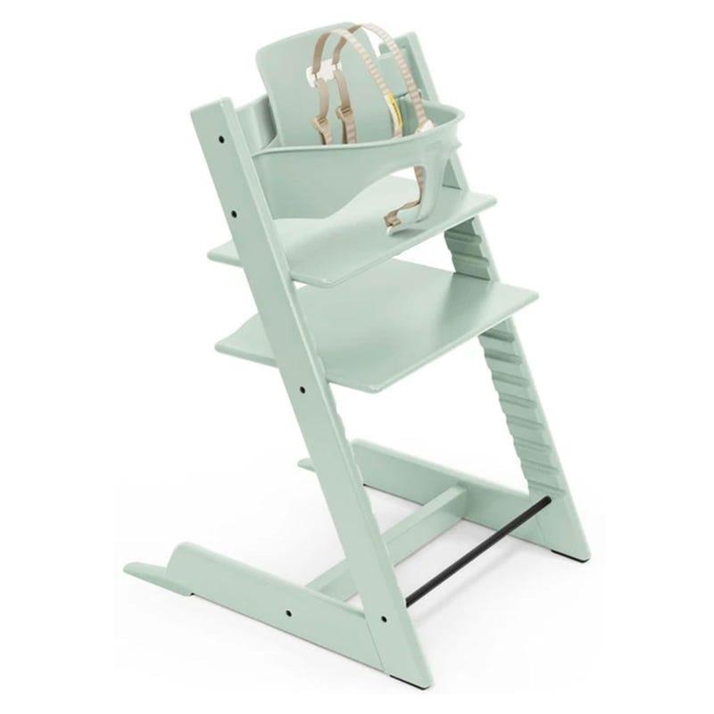 Chaise Haute Tripp Trapp® + Tripp Trapp® Baby Set - Menthe