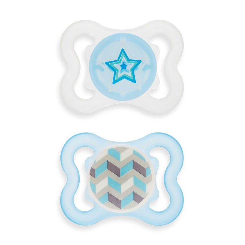 0-6months Pacifiers Set of 2 - Air Blue