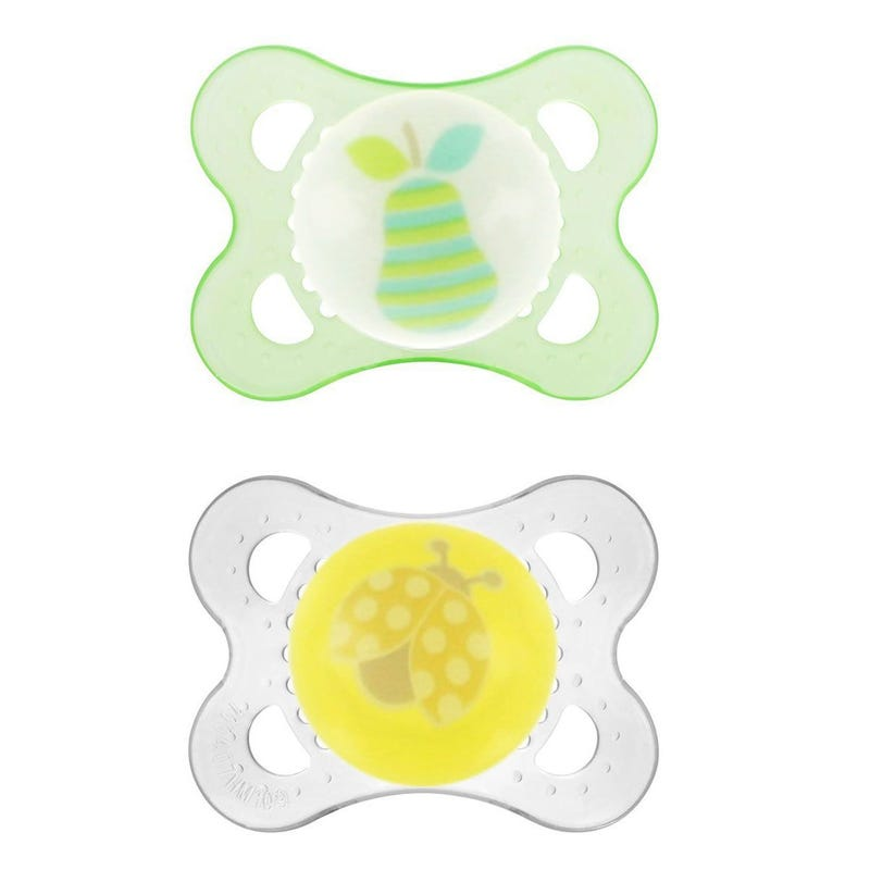 2months+ Pacifiers Set of 2 - Green