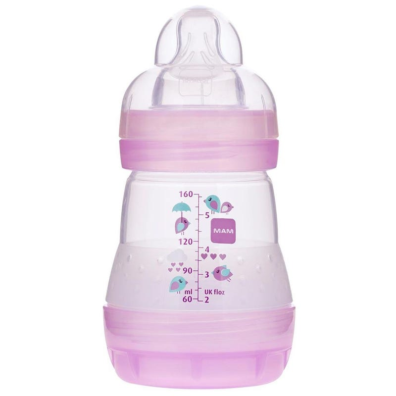 Easy Start Anti-Colic Baby 5oz Bottle - Purple