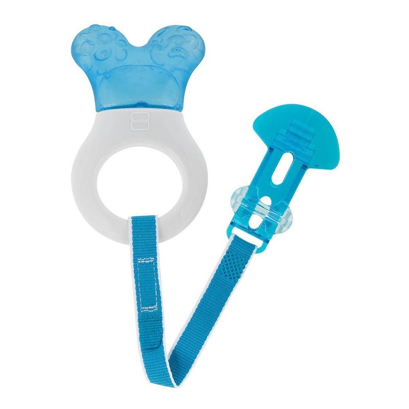 Mini Cooler and Clib Teether - Blue