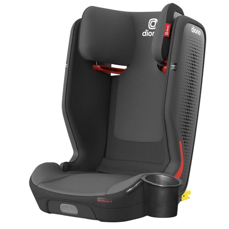 Siège d'Auto Monterey® 5iST FixSafe™ Latch 40-120lb - Gris Slate