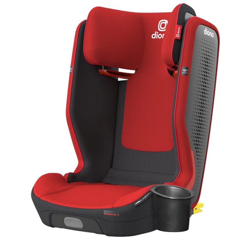 Siège d'Auto Monterey® 5iST FixSafe™ Latch 40-120lb - Rouge Cerise