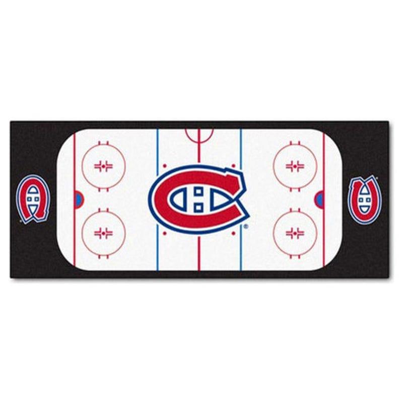 Tapis Canadiens Montreal 72x24