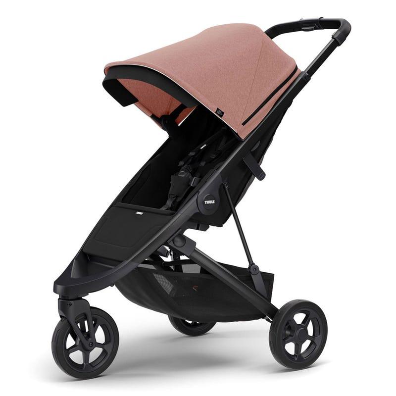 Thule Spring Stroller - Black / Misty Pink