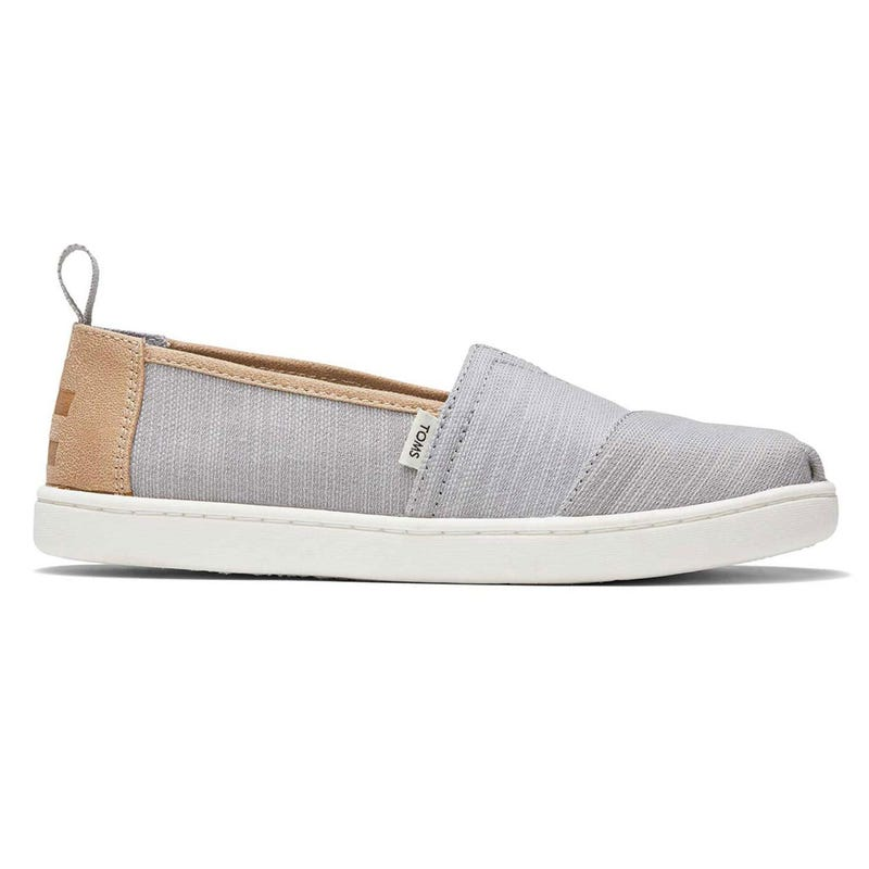 Alpargata Grey Shoe Sizes 12-6