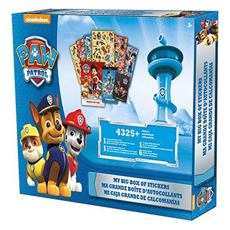 Stickers Box - Paw Patrol
