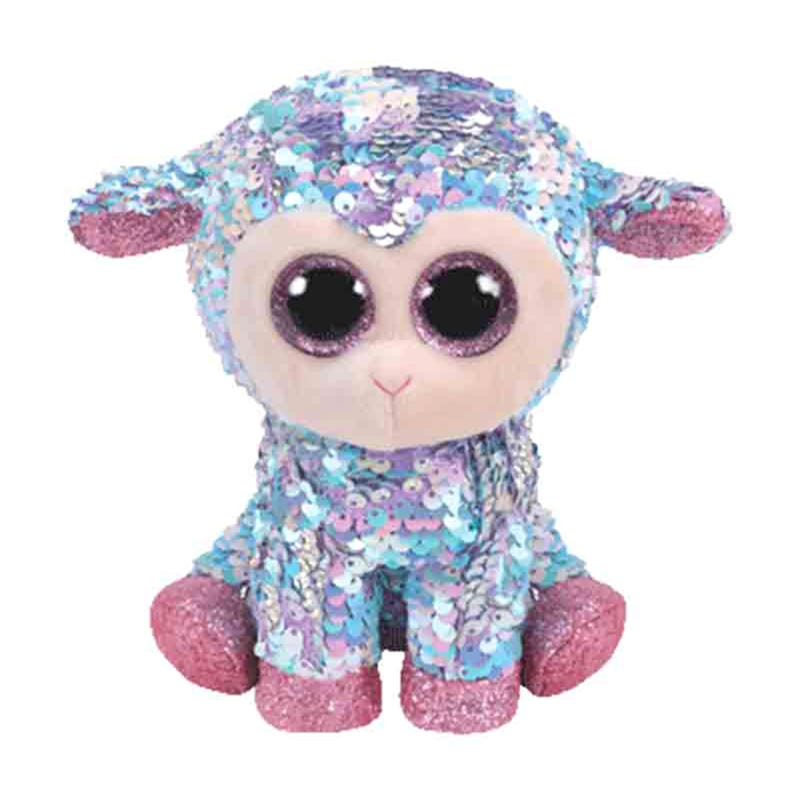"Sequin Plush 6"" - Tulip Lamb"