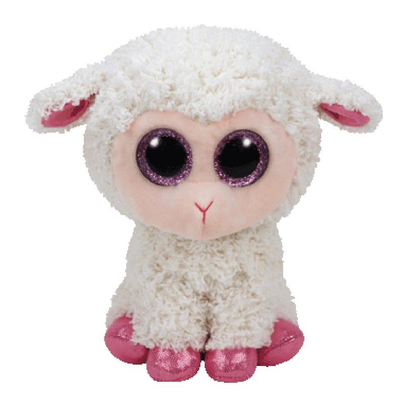 Peluche Mouton Rose