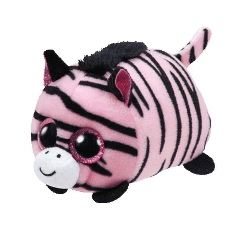 "Teeny Plush 4"" - Penny Pink Zebra"