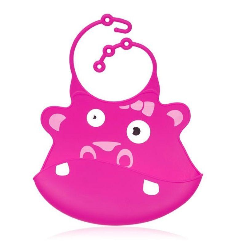 Silicone Bib - Gertrude The Hippo