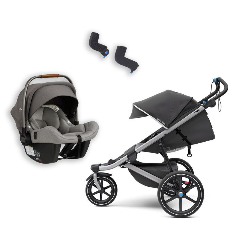 Bundle Urban Glide 2 Stroller and Nuna Pipa Lite exclusive Car Seat