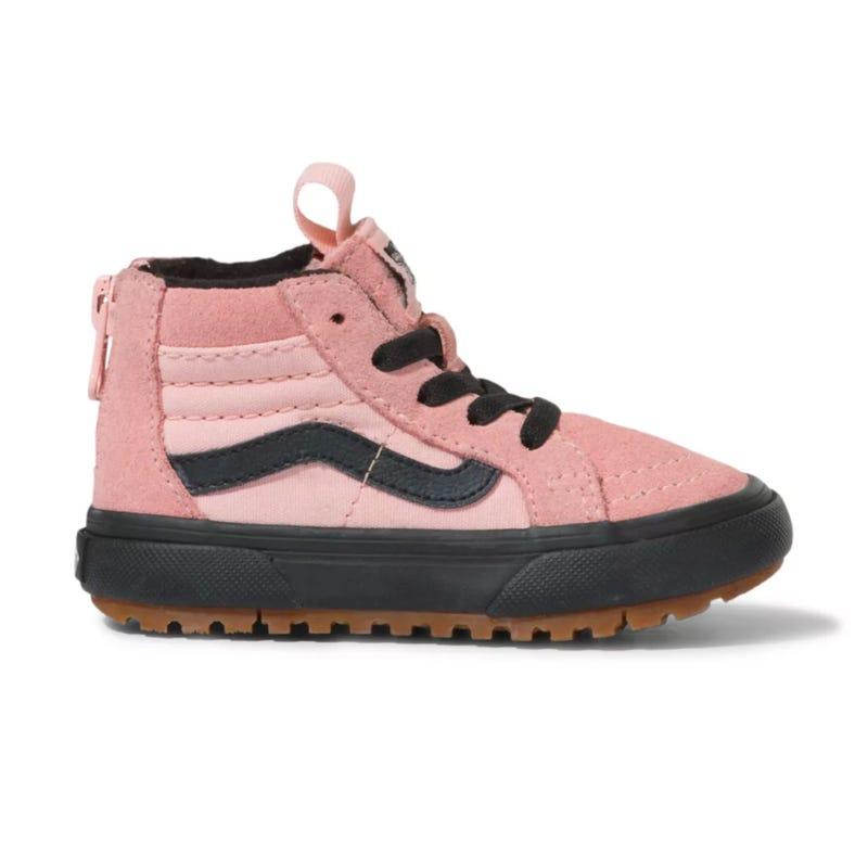 Sk8-Hi Zip Pink Shoe Sizes 11-3