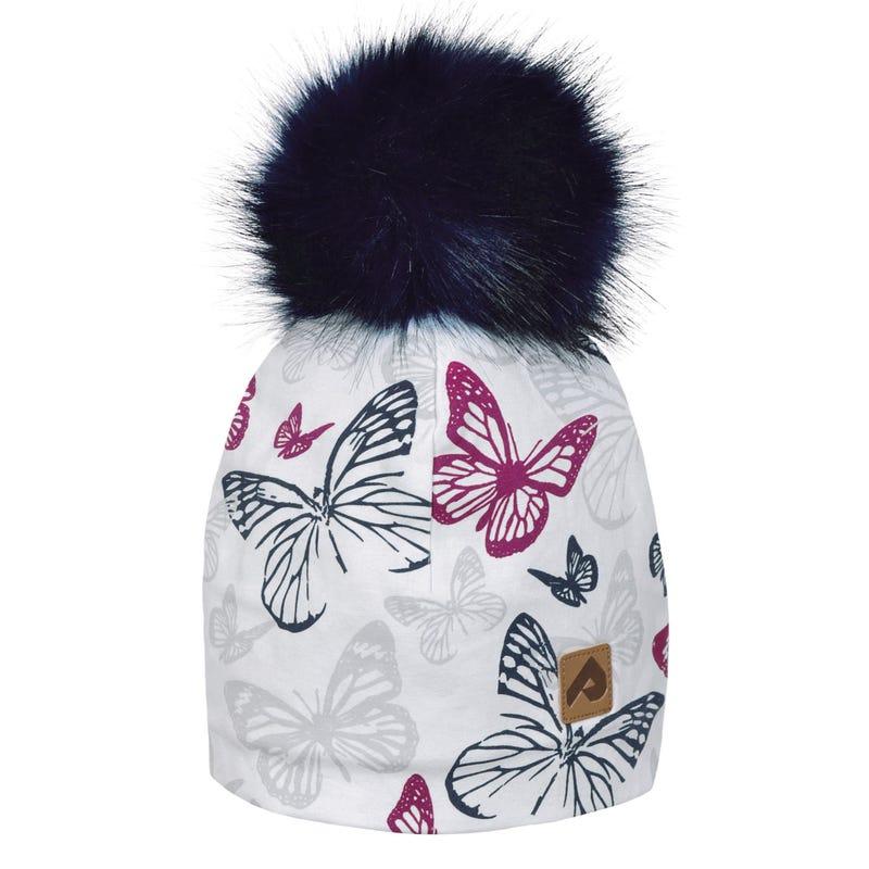 Tuque Pompon Papillon 2-12ans