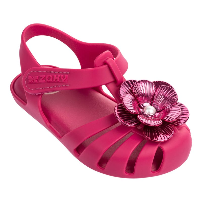 Flower Sandals Sizes 5-10 - Baby Pink