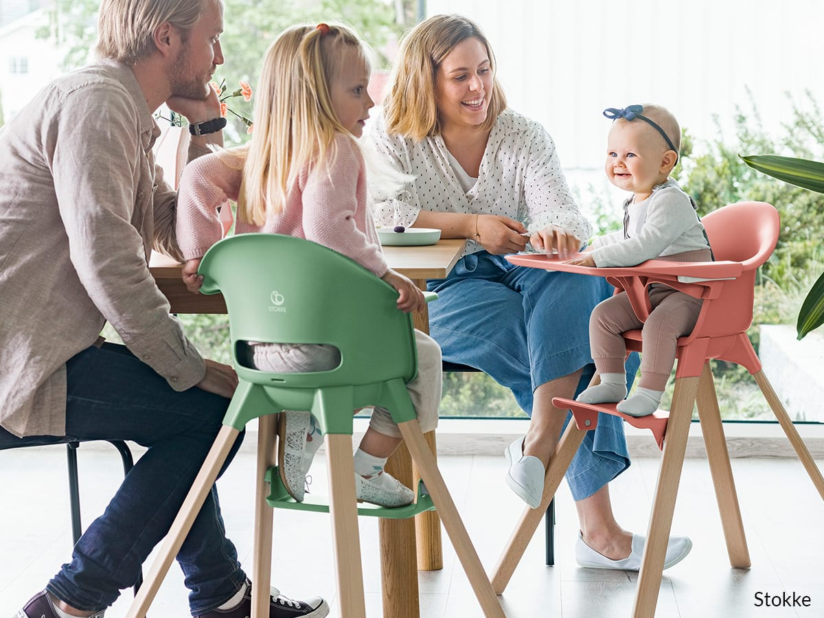 High chairs and booster seats